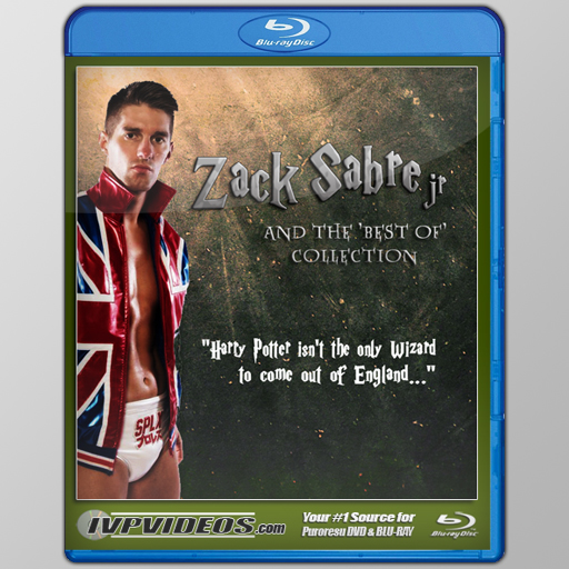 Best of Zack Sabre Jr (Blu-Ray with Cover Art)